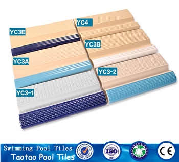 Foshan Different Types Of Laying Concrete Bullnose Tiles Pool Coping