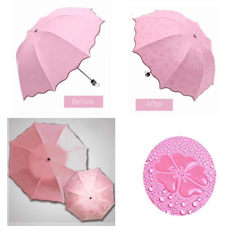 Trade company help their customer customized deluxe umbrella for promotion gift