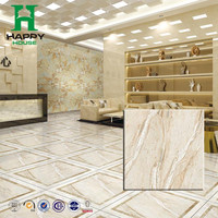 foshan spanish design standard size glazed porcelain floor tile