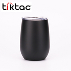 Amazon Hot Selling 12oz Double Wall Stainless Steel Insulated Stemless Wine Travel Tumbler