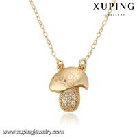 43084-18k gold ladies fashion jewelry gemstone necklace natural