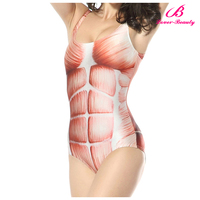 Low MOQ sexy girl breathable transparent bathing suits