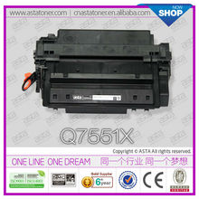 Compatible For HP Q7551X 7551X 51X alibaba Premium Toner Cartridge