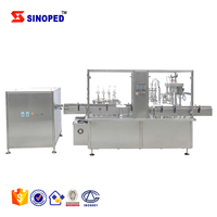 Perfume Spray Filling Product Line / Small Bottle Filling Capping Labeling Machine