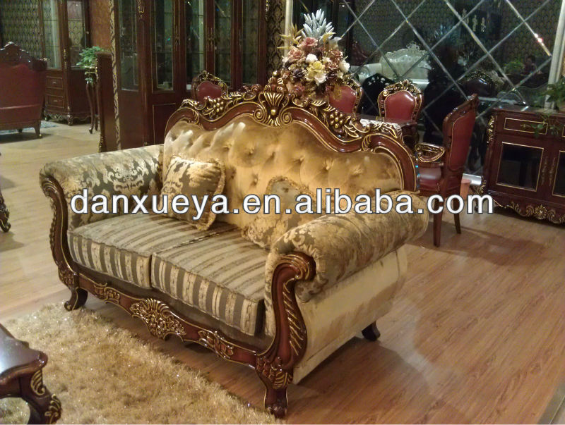 Elegante dos plazas sof muebles sof s para la sala de for Muebles encantadores del pais elegante