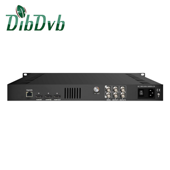 Broadcasting headend hevc ULTRA HD 4K ENCODER MODULATOR
