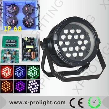 christmas lights projector18pcs 6in1rgbwa uv led parmulti color par 64 led stage