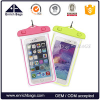 Enrich Waterproof Case, Clear Transparent Waterproof Cellphone Case Cover, Dry Bag for Swimming, Surfing