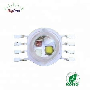 PLCC-8 Ultra Bright 8 Pin 4W 12W RGBW SMD LED Chip Diode Components