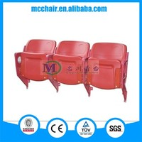 2016 Gemini Wall Mounted China Stadium Seats Folding Adult Soccer Chair/Audience Chair Arena Seating/Grandstand Seating Chairs