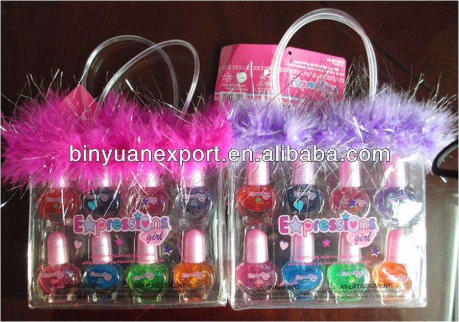 Bin Heart Bottle Kids Nail Polish Sets - Buy Nail Polish Set,Kids ...