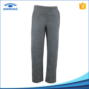 Aleklee Supply Fleece 65% Cotton 35% Polyester Leisure Long Mens Pants for Jogger