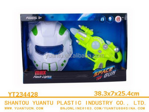New Product Super Cool Flash Gun With Robot Mask for kids!