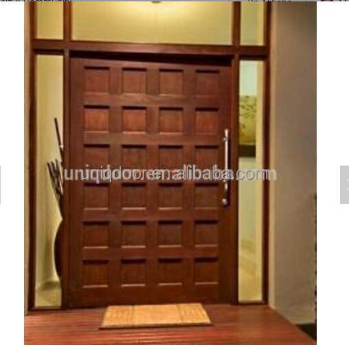 Exterior customized mahogany solid wood entry <strong>door</strong>