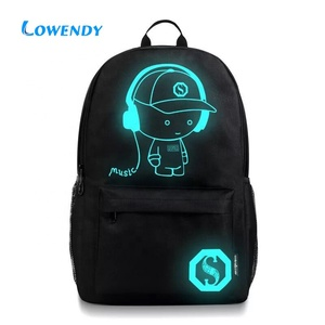 Anti-theft Laptop Backpack Bags with USB Charger