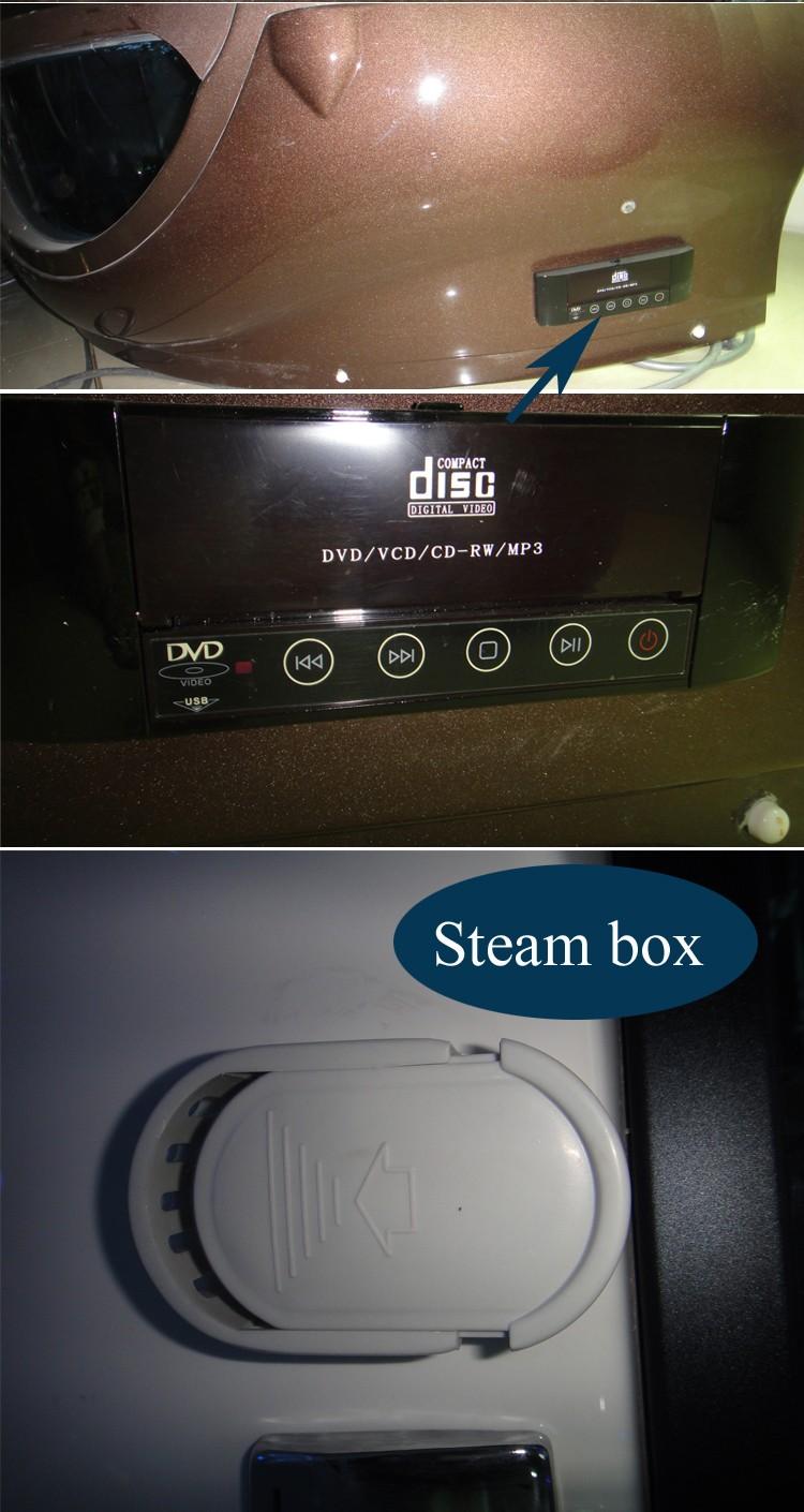 hs sr022 enclosed bath shower steam steam bath cubicle