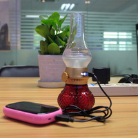 adjustable brightness newest cheap blowing led table lamp