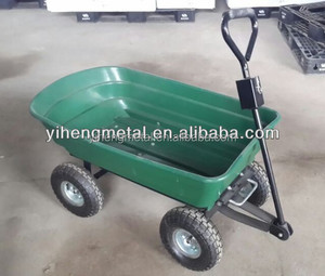 Folding Gardening Tool Cart/Trolley/Wagon With Two Wheel TC4253A