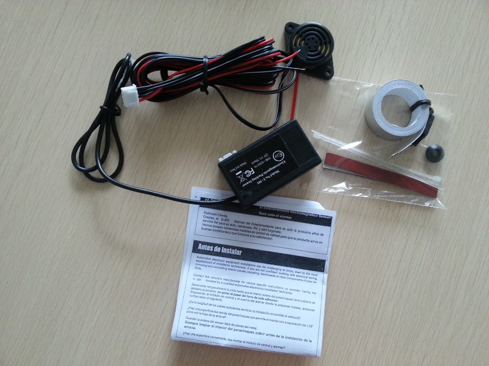 12V Car Parking Sensor Electromagnetic Induction U301