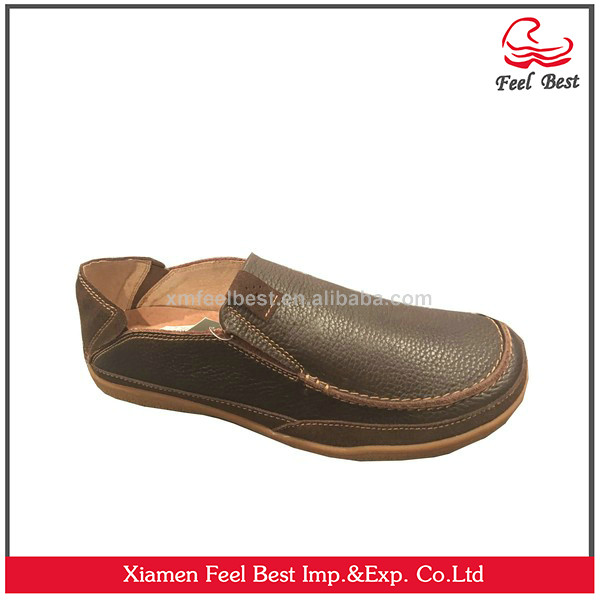 Men Boat Shoes Genuine Leather Shoes Fashion Dress Shoes
