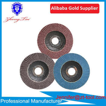 Top factory supply Alumina Abrasive Flap Disc Stainless Steel flap discs 36 60