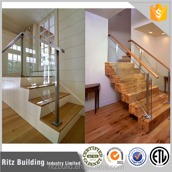 Indoor Glass Stair Railings, Indoor Glass Stair Railings Suppliers And  Manufacturers At Alibaba.com