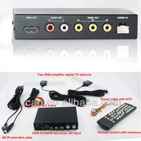 DVB-T2 HD receiver with USB PVR USB digital TV set top box