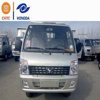 Gasoline Petrol 4x2 Foton Forlandused howo tipper truck 30cbm for large scale building site