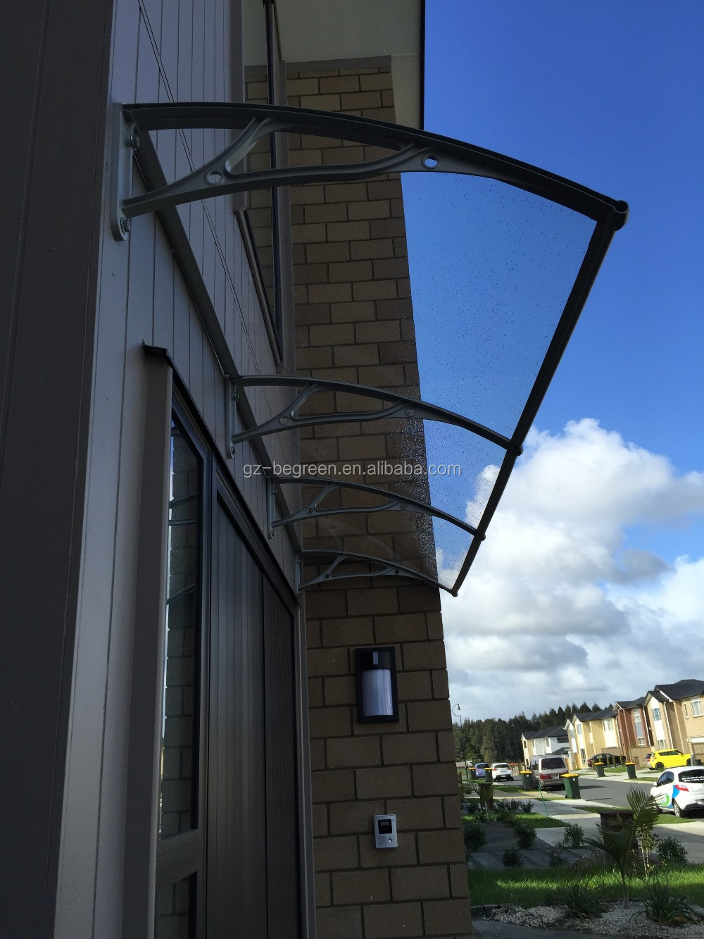Auvent Balcon intérieur egr1000 freesky auvent en aluminium pour balcon,haute qualité