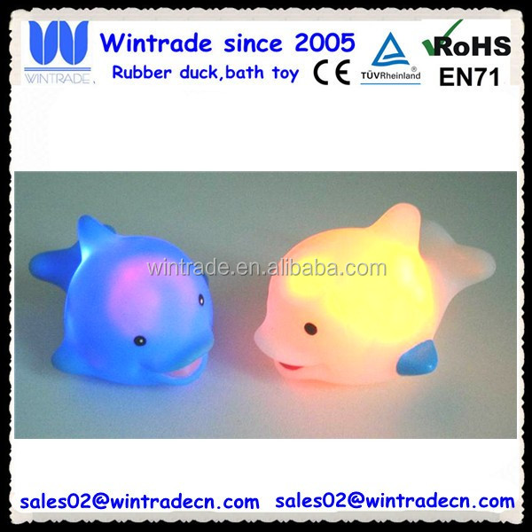 LED floating dolphin flash light up dolphin