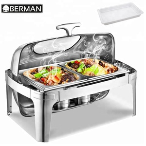 Classification of kitchen tools and equipment portable electric food warmer buffet shafing dish for party