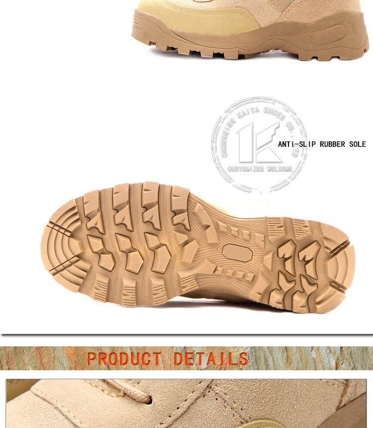 china army boots high top waterproof leather