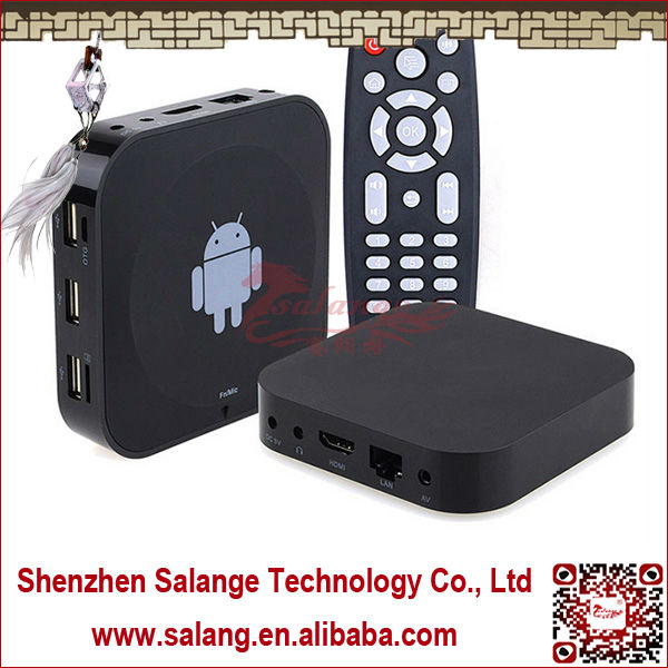 <strong>Allwinner</strong> <strong>A20</strong> CORTEX-A7 DUAL-CORE 1.5GHZ Made in China 1G 8G Android Set <strong>TV</strong> <strong>Box</strong> with Microphone and3 USB2.0 Port By Salange