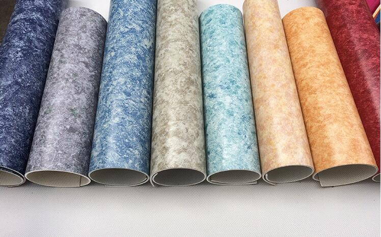 Vinyl Rubber Linoleum Flooring Roll For Indoor Use With