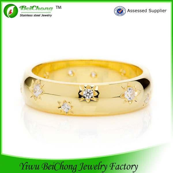 Cheap Wholesale Fine 18k Gold Wedding Rings Turkish Fine Jewelery