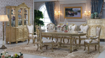 Bisini Dining Table, Italian Luxury Dining Table, Antique European Italian Dining  Room Furniture,