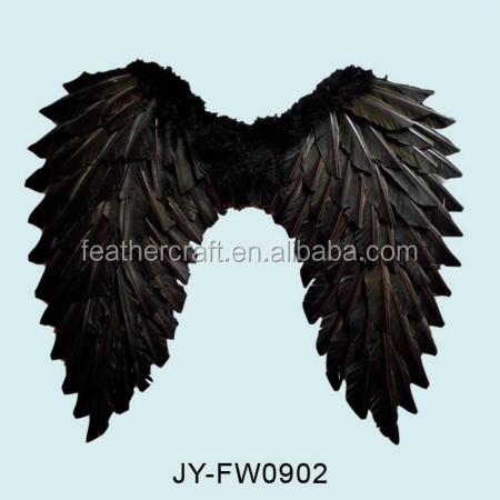 halloween angel wings wholesale for party decorations black