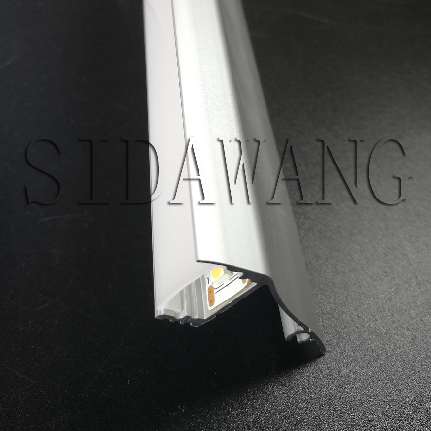 1-4meter length Wall Mounted Anodized Extrusion Aluminium Led Lighting Profile for 12mm 5050/3528/2835 strip