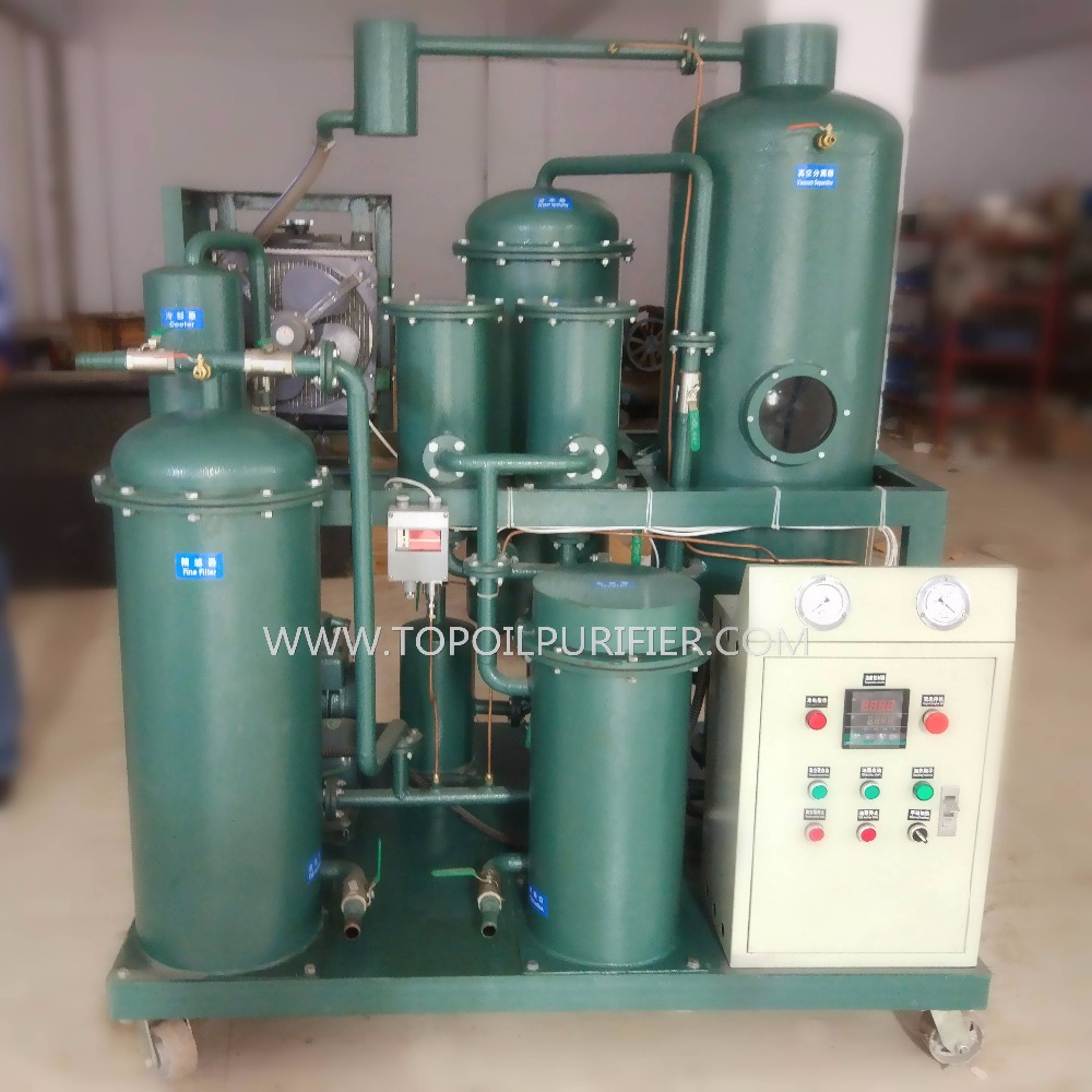 Used Lube Oil Treatment Machine/Hydraulic Oil Dehydration Plant/Filtering Unit