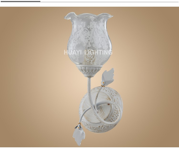 Decor home Vacation homes antique style crystal wall lamp