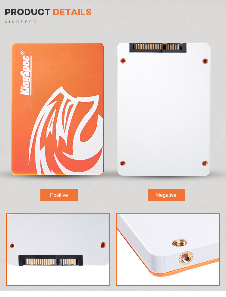 "Kingspec Commercio All'ingrosso Desktop di 128GB Computer Portatile da 2.5 ""Hard Disk A Stato Solido SSD HDD"