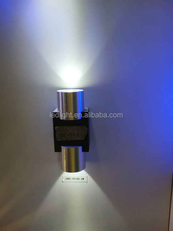 2w Led Light Source Indoor Warm White Led Wall Light Up And Down ...