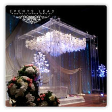 Guangzhou eventslead trading co ltd event productswedding products acrylic wedding arch wedding table decoration junglespirit Images
