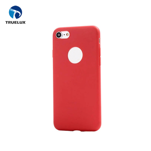 Lovely Candy Colors Flip Silicone TPU Case For iPhone 8 Smart Phone Accessories