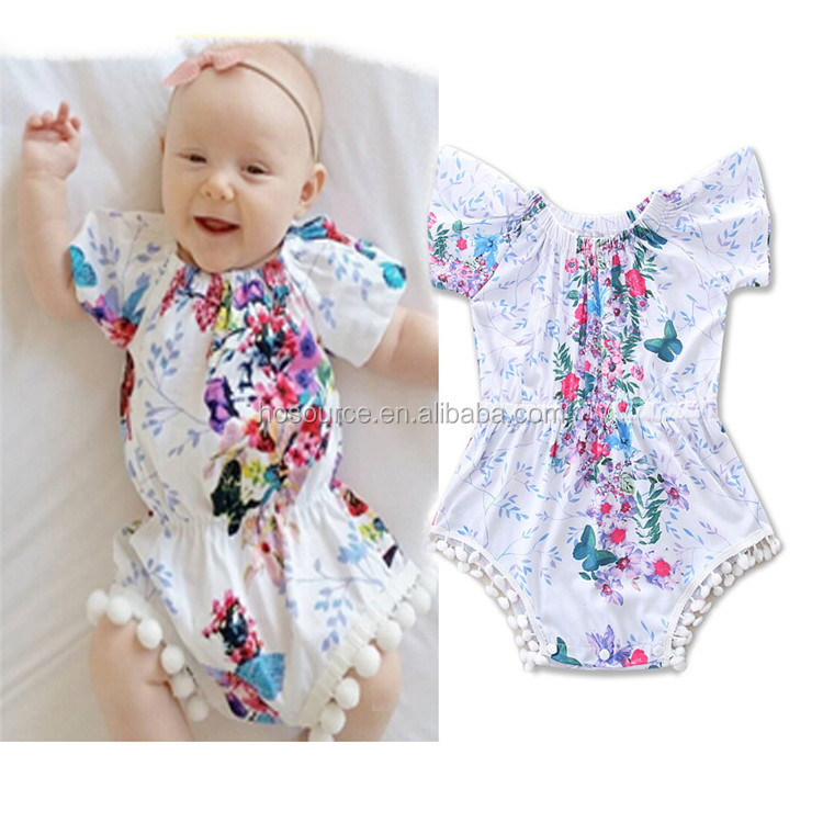 Organic Cotton Infant Baby Bubble Romper