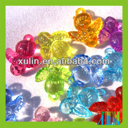 transparent cherub acrylic beads new product for 2013