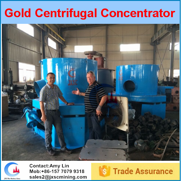 Simple installation manganese centrifugal gold concentrator