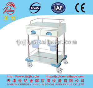BA13 Luxurious medical treatment cart with drawers and buckets