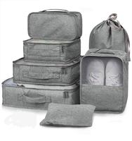 7 Pcs Packing Cubes Travel Luggage Packing Organizers Set with Laundry Bag