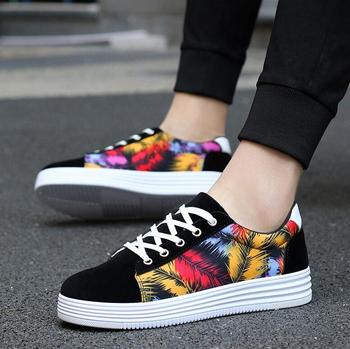 032f66d13b4b1 2017 Latest Autumn Fashion Style Men Loafer Shoes Beautiful Printed Canvas  Shoes - Buy Men Loafer Shoes,Men Shoes 2017,Printed Canvas Shoes Product on  ...